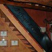 Dettaglio scala legno