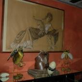Sala colazioni: dettaglio quadro