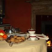 Dettaglio tavola colazioni