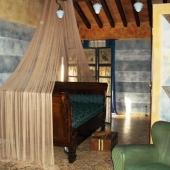 Suite Eclettica: letto a barca
