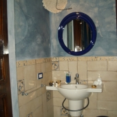 Suite Eclettica: scorcio del bagno
