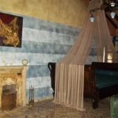 Suite Eclettica: antico camino in ferro